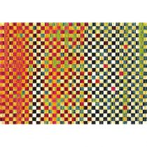"Tapis Rectangulaire ""Eldely Color"" 160x230cm Multicolore"