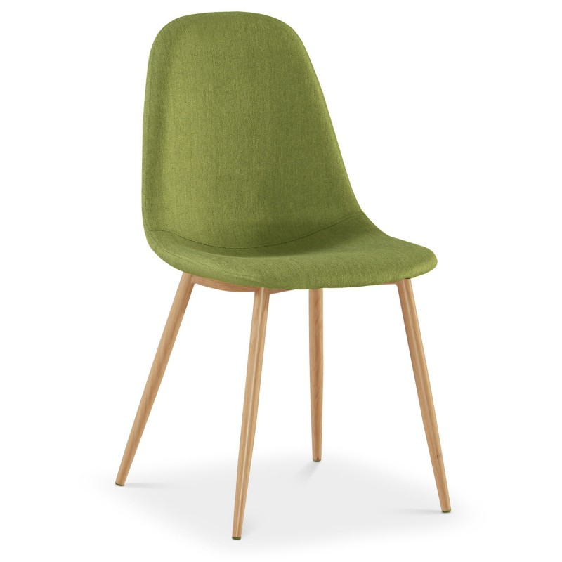 lot de 4 chaises scandinave bonnie 87cm vert. Black Bedroom Furniture Sets. Home Design Ideas