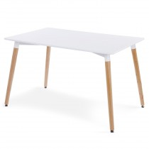 "Table Scandinave ""Appeal"" 120cm Blanc"