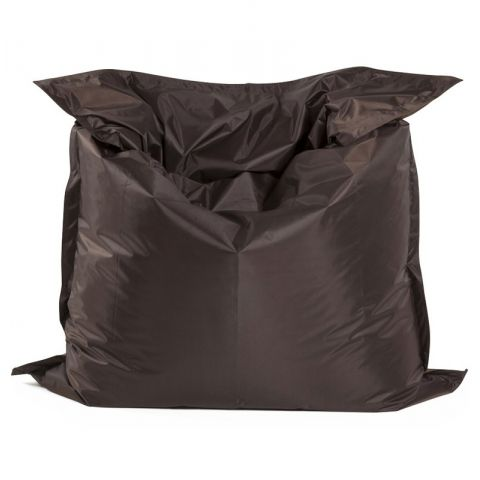 Pouf XXL Design Marron