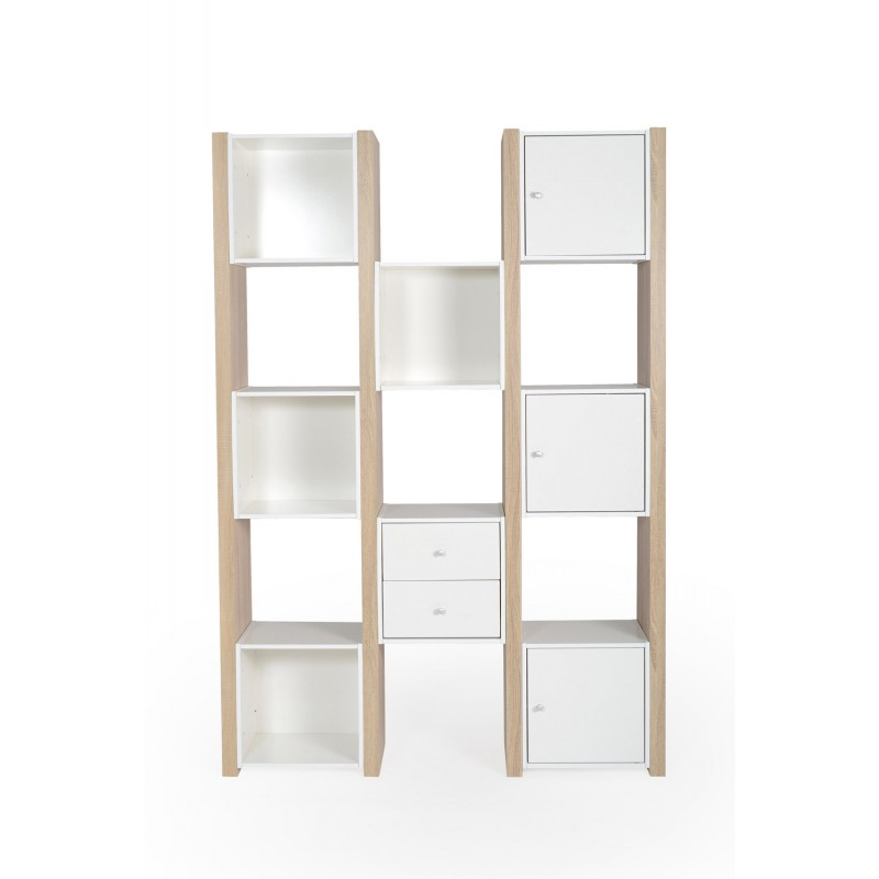 tag re en bois complea 180cm blanc ch ne. Black Bedroom Furniture Sets. Home Design Ideas