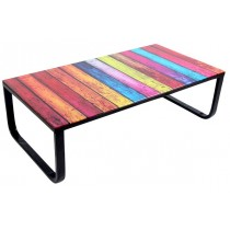"Table Basse ""Shadoss"" 105cm Multicolore"