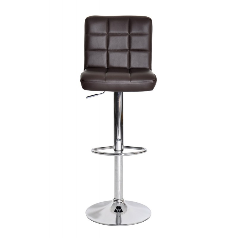lot de 2 tabourets de bar linno 91 112cm chocolat. Black Bedroom Furniture Sets. Home Design Ideas