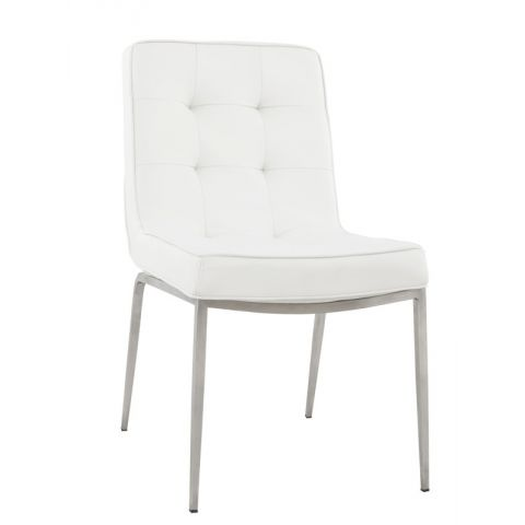 Chaise design Confort Blanc
