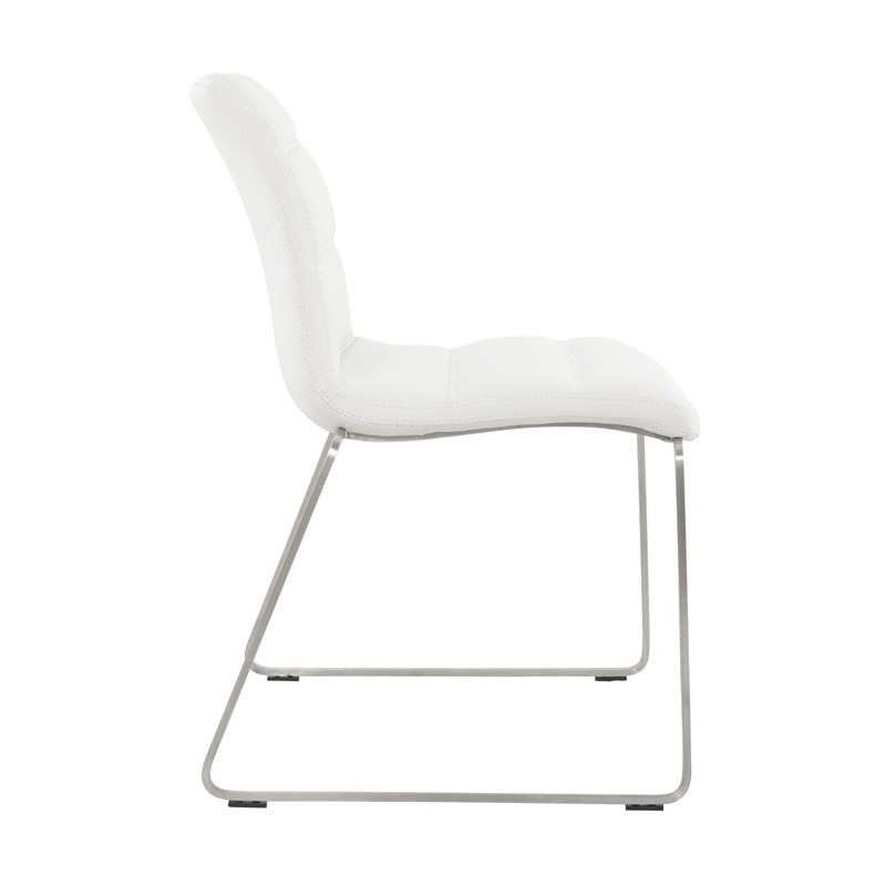Chaise design relax blanc for Chaise relax