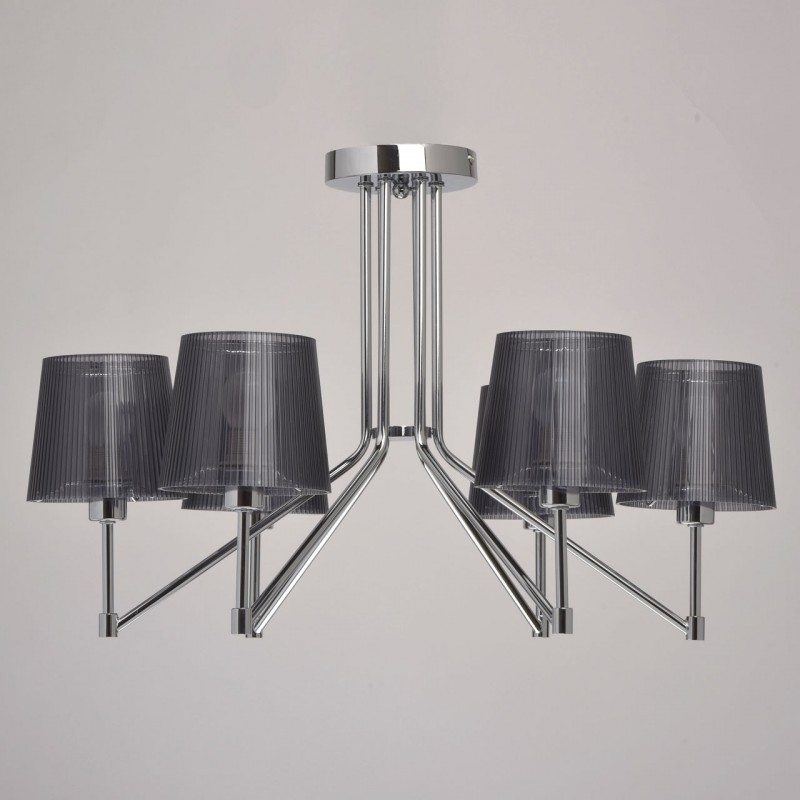 lustre suspension en m tal gavar 40cm gris. Black Bedroom Furniture Sets. Home Design Ideas