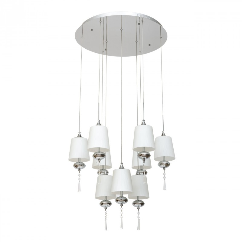 lampe suspension design maestro 71cm blanc. Black Bedroom Furniture Sets. Home Design Ideas