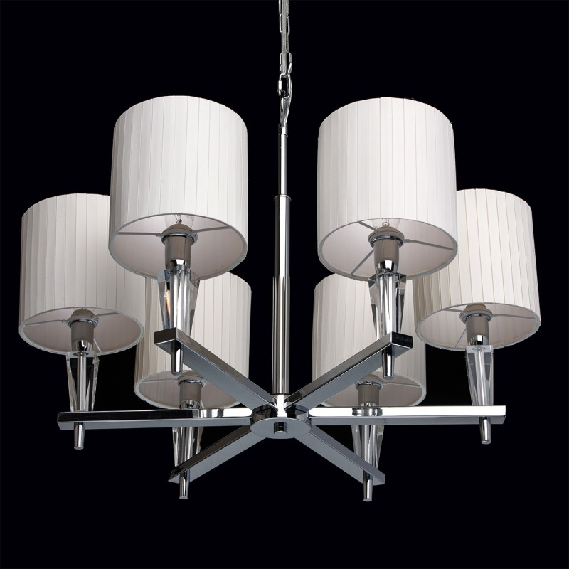 lustre suspension m tal luce 167cm blanc. Black Bedroom Furniture Sets. Home Design Ideas