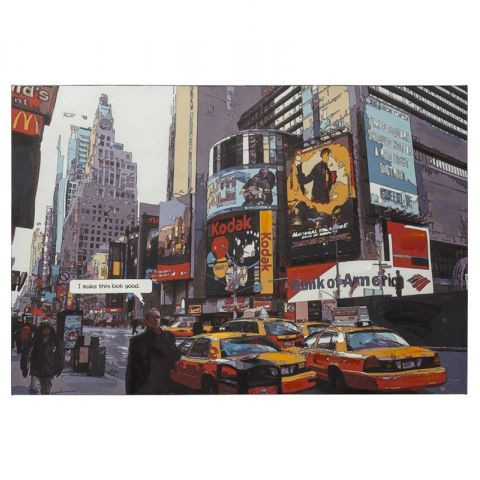 "Tableau ""New-York Comics""  80x120cm"
