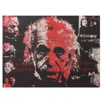"Tableau ""Einstein Pop Art"" 90x120cm"