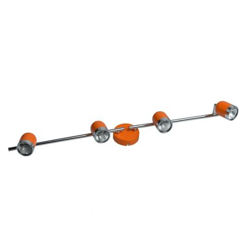 "Spot Mural Métal ""Rail"" 82cm Orange"