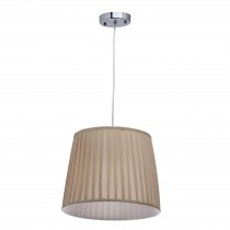 "Lampe Suspension Design ""Mado"" 250cm Beige"