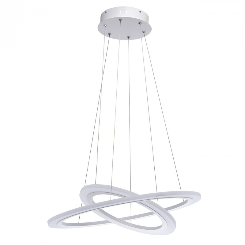 lampe suspension design led cosmos 152cm blanc. Black Bedroom Furniture Sets. Home Design Ideas