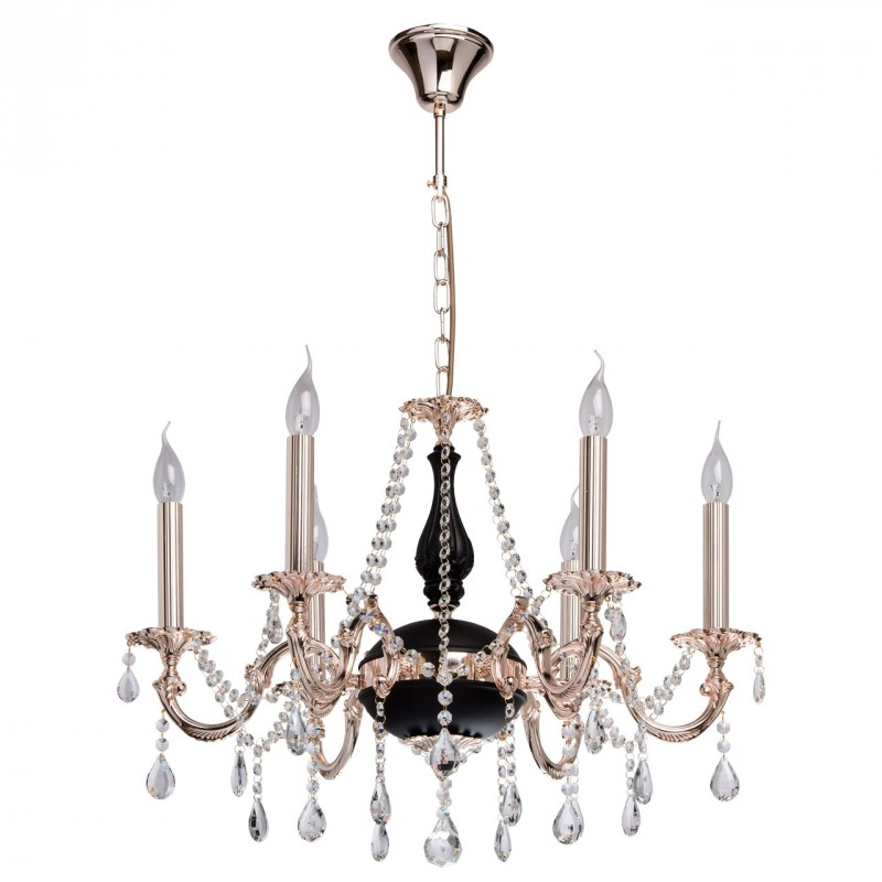 Lustre suspension m tal chideric 100cm noir or for Lustre metal noir