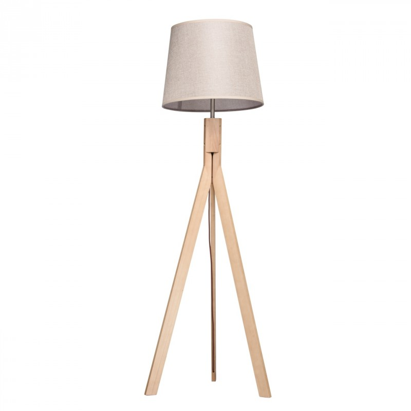 lampadaire fr ne 3 pieds grazo 162cm naturel. Black Bedroom Furniture Sets. Home Design Ideas
