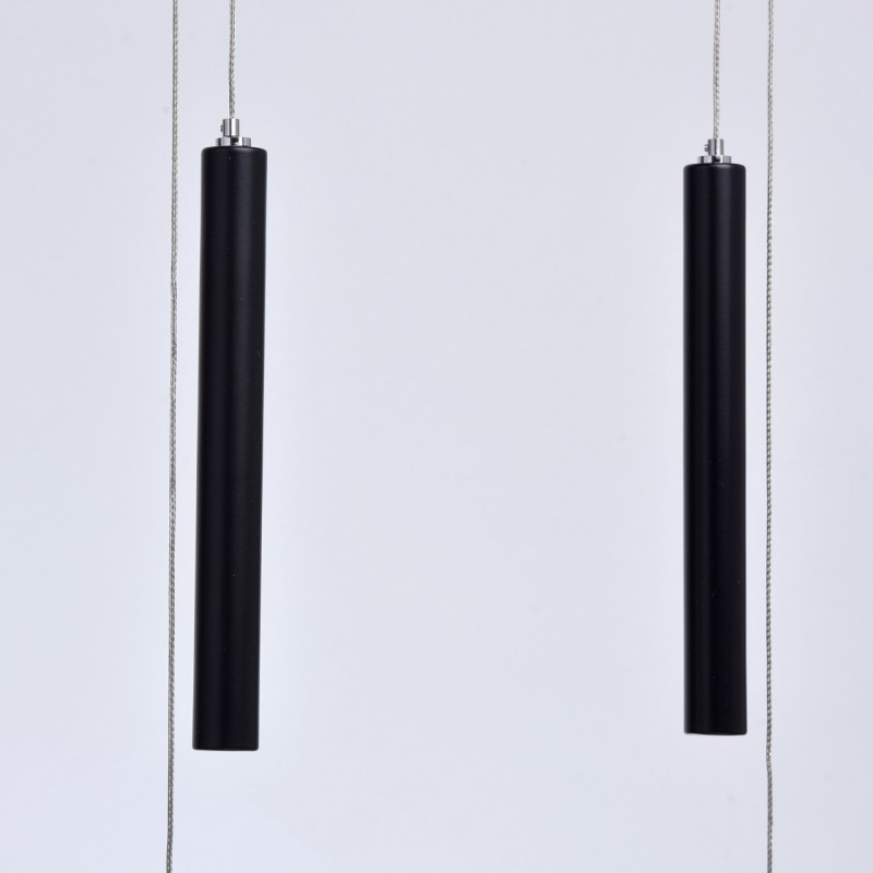 lampe suspension led gamma 150cm noir. Black Bedroom Furniture Sets. Home Design Ideas