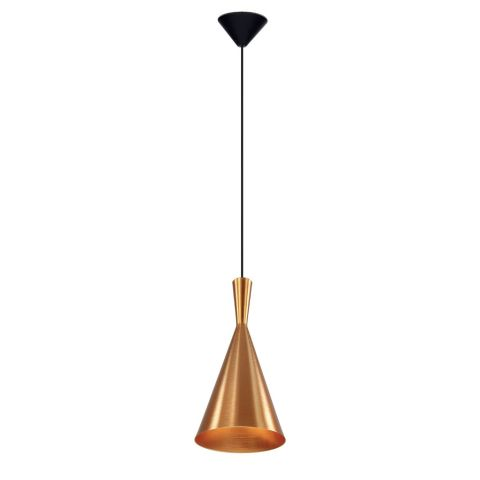 Lampe Suspension Design Vicky 19cm Cuivre Or