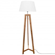 "Lampadaire Design ""Bambou"" 153cm Naturel"