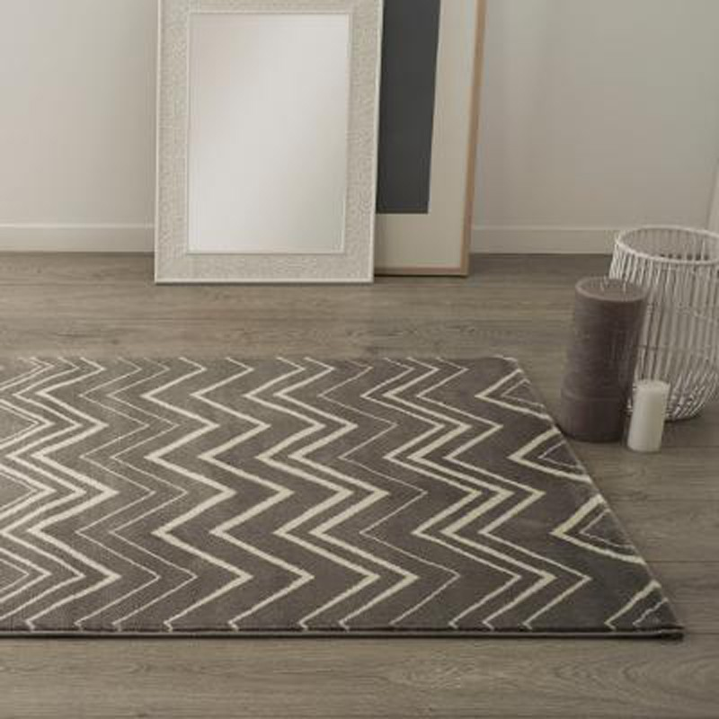 tapis de salon martel 120x170cm gris. Black Bedroom Furniture Sets. Home Design Ideas