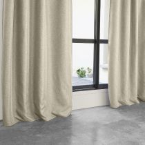 "Rideau Occultant ""Maille"" 140x260cm Beige"