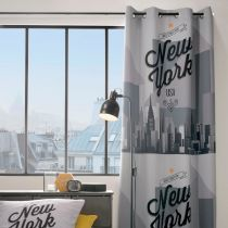 "Rideau Occultant ""NY City"" 140x260cm Multicolore"