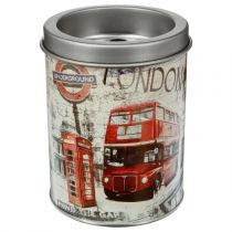 "Cendrier Métal City ""London Bus"" 10cm Rouge"