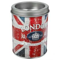 "Cendrier Métal City ""London Flag"" 10cm Rouge"