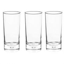 "Lot de 3 Verres ""New Side"" 36cl Transparent"