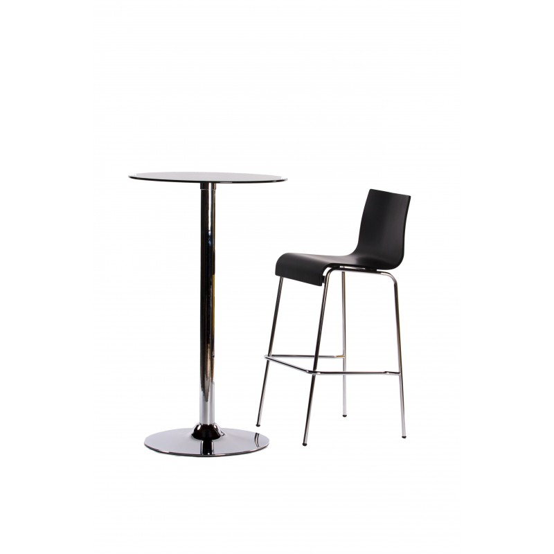 tabouret de bar forest 104cm noir. Black Bedroom Furniture Sets. Home Design Ideas