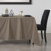 "Nappe Rectangulaire ""Mist"" 140x240cm Taupe"