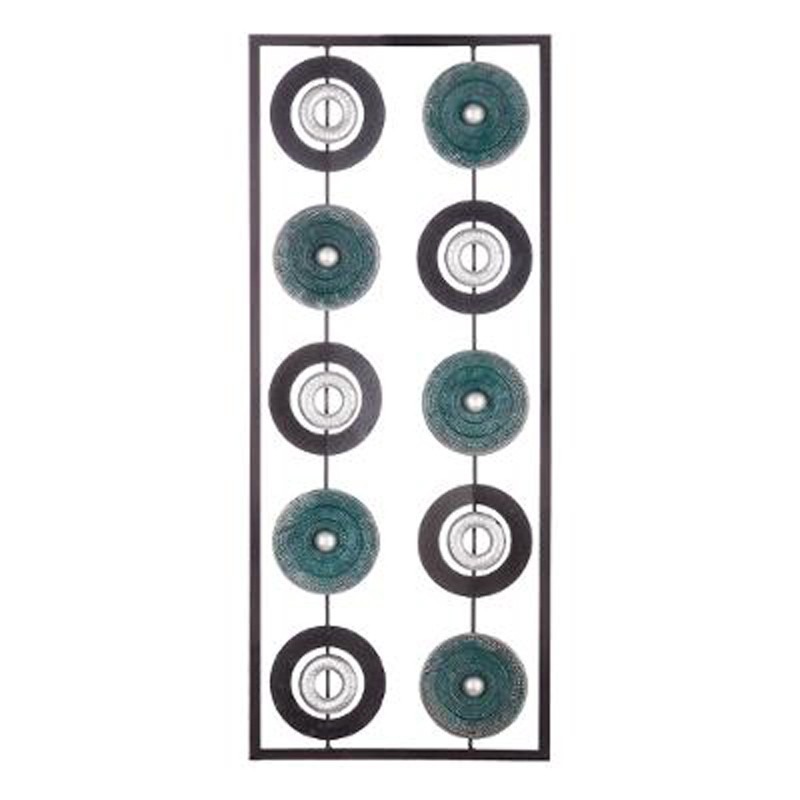 Decoration Murale En Metal Noir Of D Coration Murale En M Tal Cercle 25x61cm Noir