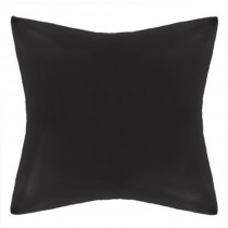 "Lot de 2 Taies d'oreiller ""Manoir"" 60x60cm Noir"