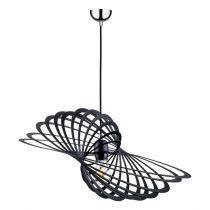 "Lampe Suspension Design ""Planet II"" 61cm Noir"
