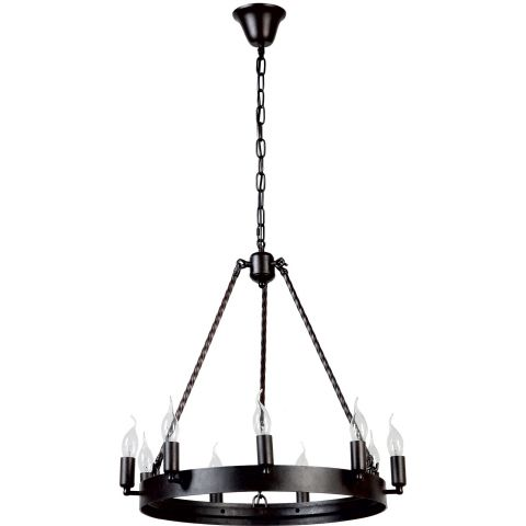 Lustre suspension baroque bellona 57cm noir for Suspension baroque