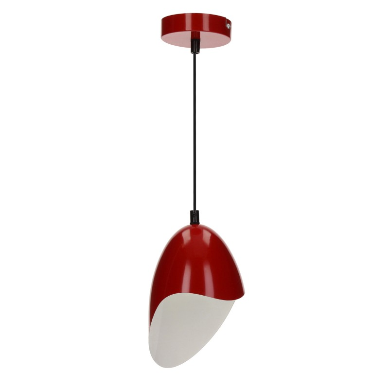 lampe suspension m tal jensen 26cm rouge. Black Bedroom Furniture Sets. Home Design Ideas