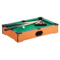 "Jeu de Table ""Billard"" 51cm Naturel"