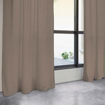 "Rideau Tamisant ""Lilou"" 140x260cm Taupe"