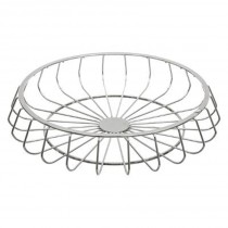 "Centre de Table Moderne ""New Line"" 33cm Argent"