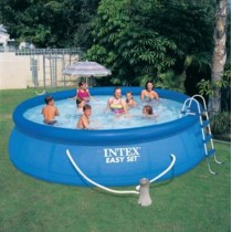 "Kit Piscine Autoportante ""Easy Set"" 457x107cm Bleu"