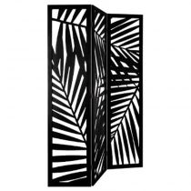 "Paravent Design ""Contemporain"" 170cm Noir"