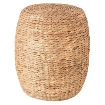 "Table d'Appoint ""Seagrass"" 40cm Naturel"