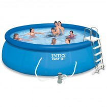 "Kit Piscine Autoportante ""Easy Set"" 457x122cm Bleu"