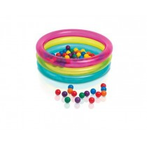 "Piscine à Balles Enfant ""Bubble"" 86cm Multicolore"