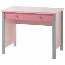 "Bureau Enfant ""Cindy"" 145cm Rose"