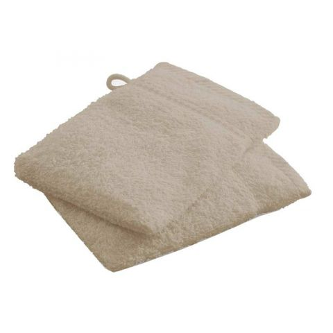 Lot de 2 Gants de Toilette Today Mastic 16x21cm