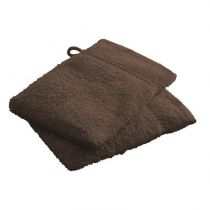 Lot de 2 Gants de Toilette Today Bronze 16x21cm