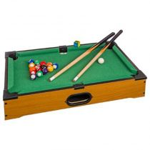 "Mini Billard de Table ""Tactique"" 51cm Naturel"