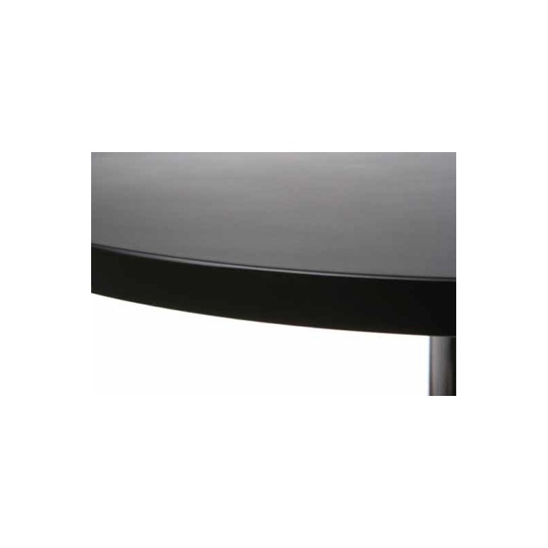 table de bar basic noir. Black Bedroom Furniture Sets. Home Design Ideas