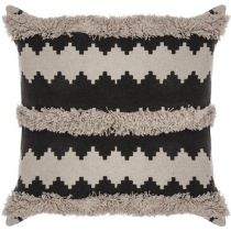 "Coussin Macrame ""Nomade"" 60x60cm Beige"