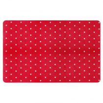 "Set de Table ""Pois"" 30x45cm Rouge"